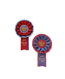 Royal riding club rosette