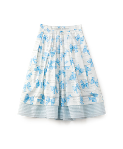The 35th ribbon tuck skirt