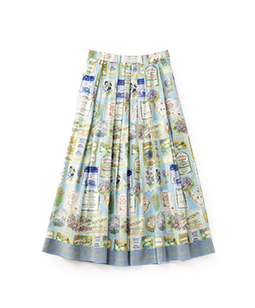 Jardin des violettes dress skirt