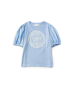 Holy grace embroidery T-shirt