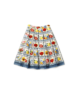 Seeds of hope tuck skirt