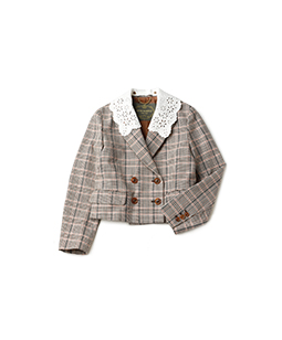 Spring glen check spencer jacket