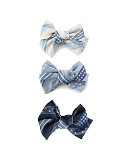 Ribbon jacquard stripe ribbon corsage