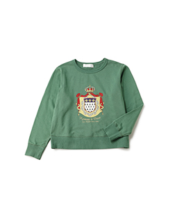 French crest sweat shirt