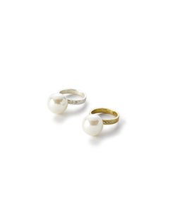 Innocent pearl ring