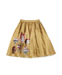 Sweets In The Palace decoupage skirt