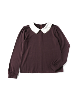 Twinkle collar pullover