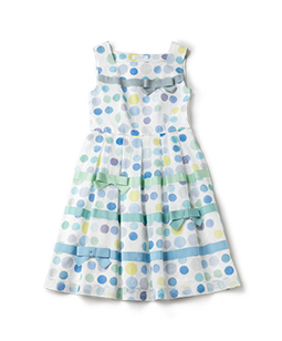 Candy's dot square dress