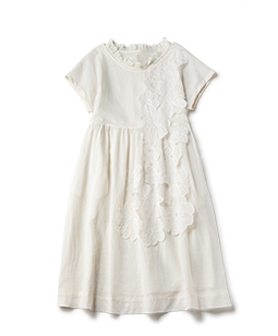 Joyful flowers tablier dress