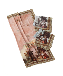 English Manor House scarf