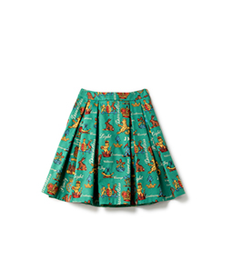 Joyful crest tuck skirt