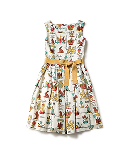 Joyful crest square dress