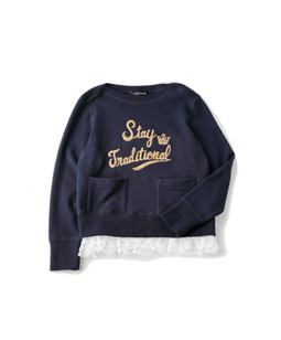 Theme EMB sweatshirt