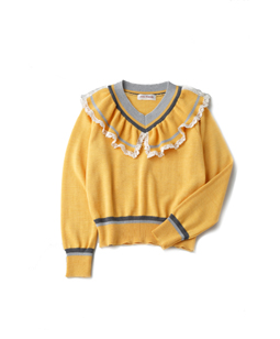 Frill york cricket sweater