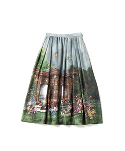 Holy library airy skirt