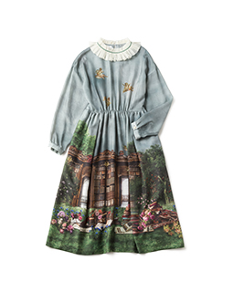 Holy library afternoon dress