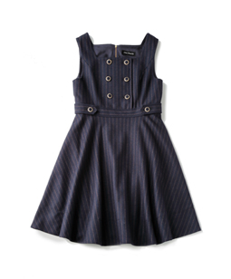 British Stripes dormitory dress