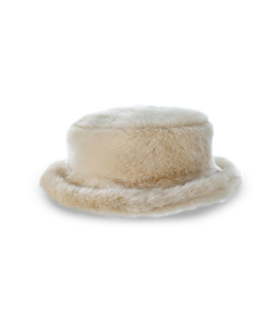 Fake fur hat