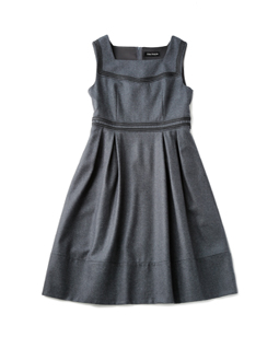 High-count flannel dormitory dress