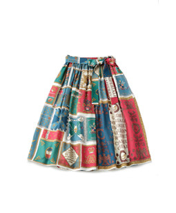 Royal Flag skirt