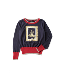 Angel frame sweater
