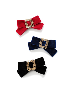 Relief buckle  ribbon corsage