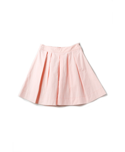 Typewriter back frill skirt