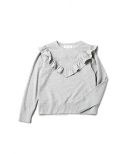 Soft fleece frill york sweat