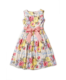 Beautiful Bouquet afternoon dress