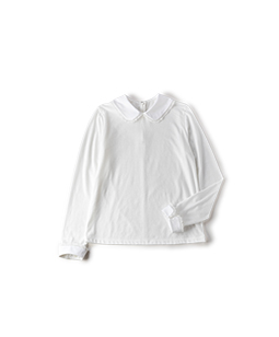 Soft T-cloth round collar pullover