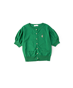 French toy soldier EMB cardigan
