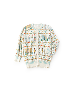 French toy soldier cardigan