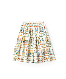 French toy soldier tuck skirt