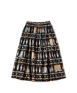 French toy soldier long skirt