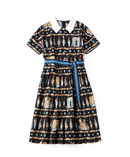 French toy soldier shirt dress