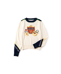 Royal coach sweater