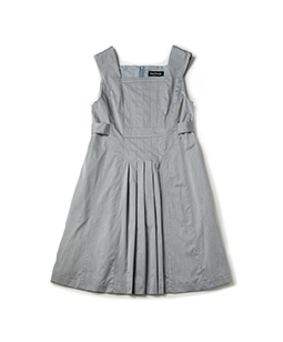 Compact twill dormitory dress