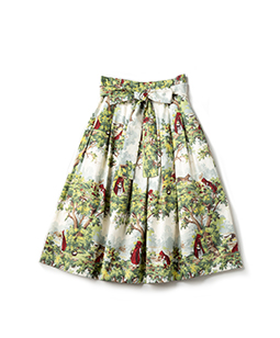 To the forest tuck skirt