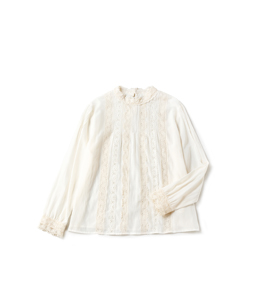 Leaver lace victorian blouse