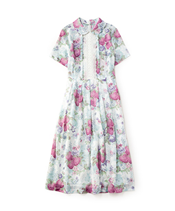 Strawberry season day dress