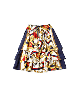 Lady's carriage dirndl skirt