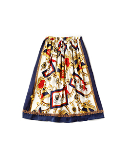 Lady's carriage long skirt