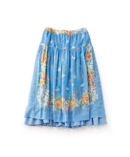 Sunflowers fluffy skirt