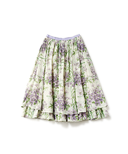 Crematis garden sheer skirt