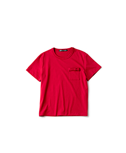 Gizanty  T-cloth ribbon pocket T-shirt