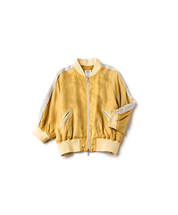 Bubble sleeve souvenir jacket