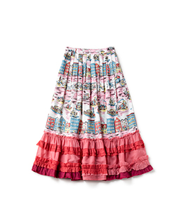 Old New York flapping skirt