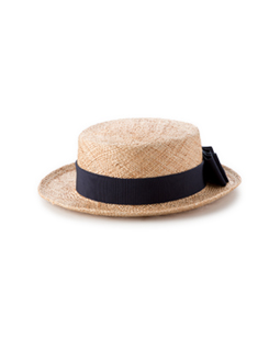 Bao back ribbon hat
