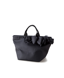drape ribbon tote bag