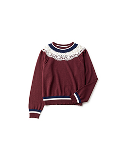 Leavers lace york cricket sweater